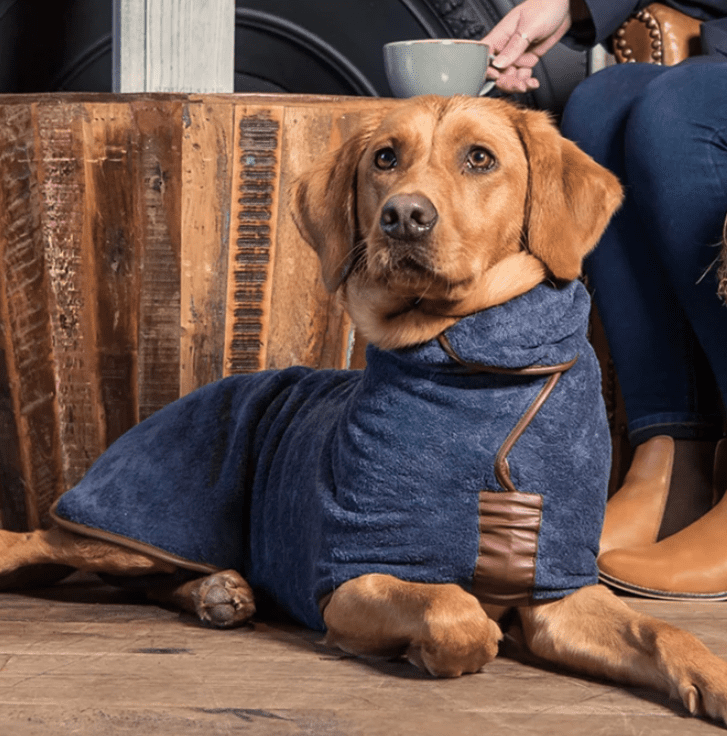 Country Dog Drying Coat