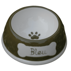 Handcrafted Ceramic Dog Bowl - SMALL