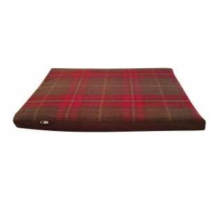 Travel Dog Bed - Monmouth Check