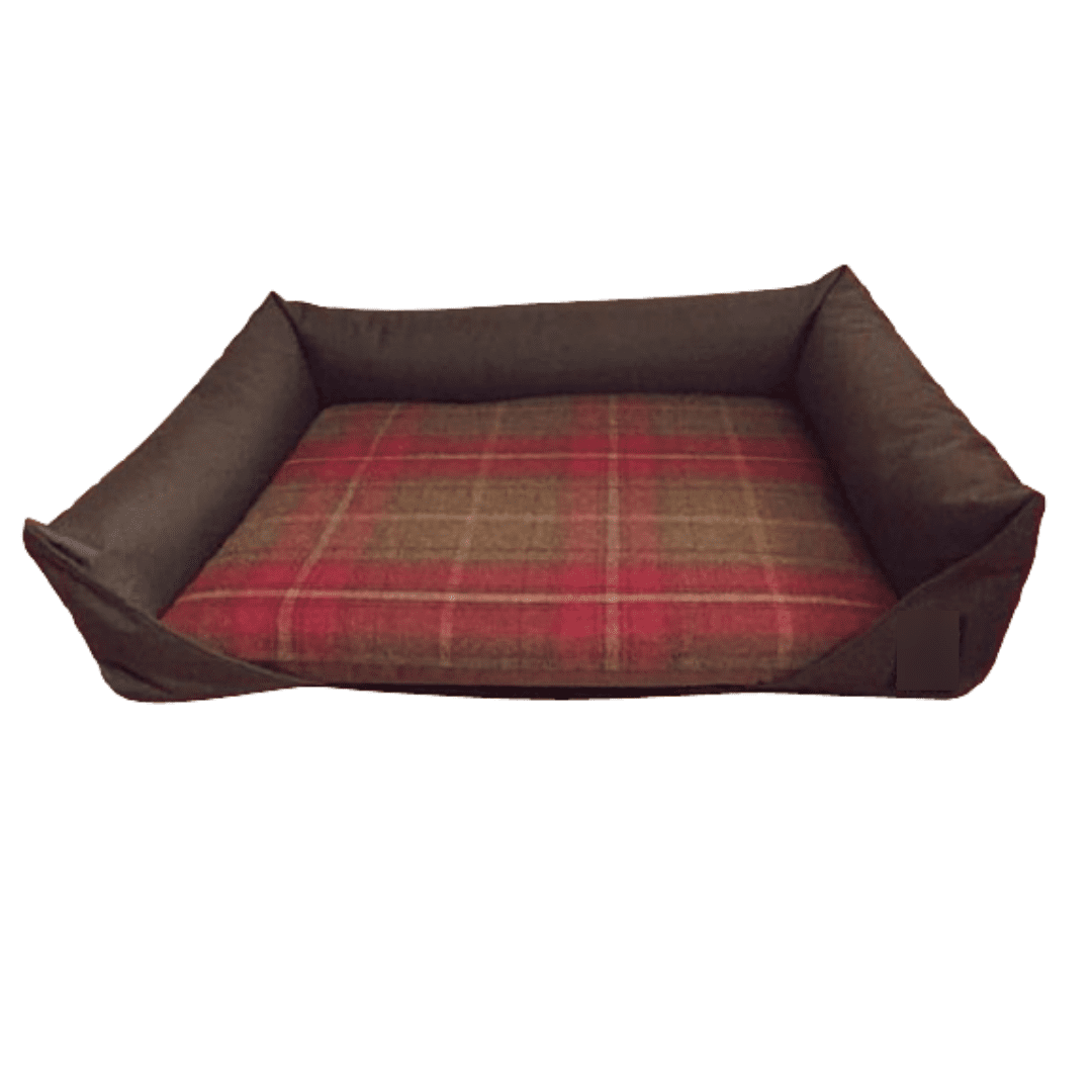 Drop Front Dog Bed Monmouth Check
